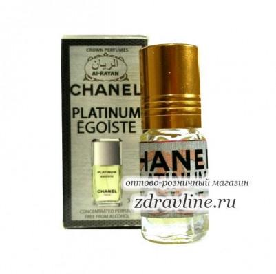 Масляные духи Chanel Platinum Egoiste