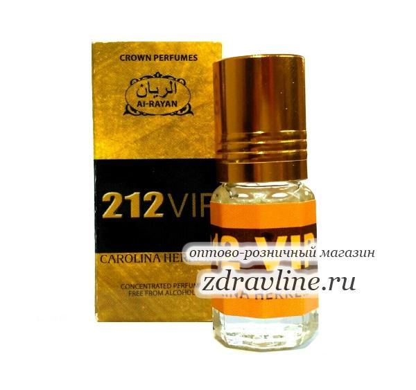 Духи миск 212 Vip  /  212 Вип от Al Rayan, 3 мл