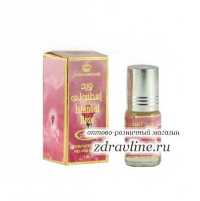 Масляные арабские духи Istanbul Rose / Станбул Роза  от Al-Rehab, 3мл