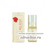 Арабские масляные духи Red Rose AL-REHAB, 3ml