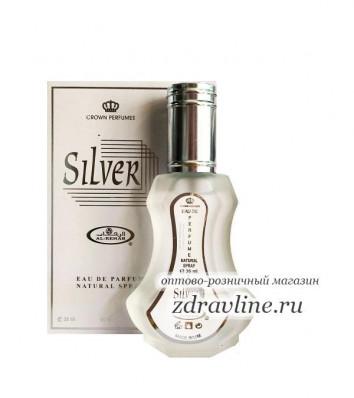 Арабские духи Silver / Сильвер Al-Rehab, 35 мл