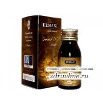 Льняное масло Hemani, 30мл