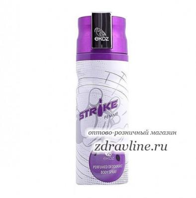 Дезодорант Ekoz Strike (Страйк)