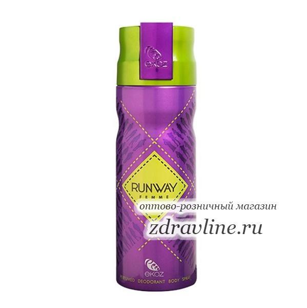 Дезодорант Ekoz Runway Femme (Взлетная полоса)
