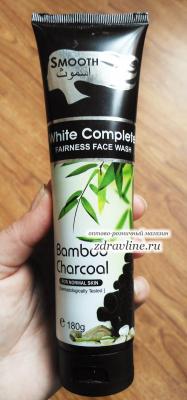 Крем для умывания с Бамбуковым углем