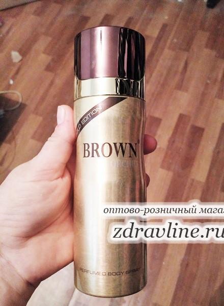 Мужской дезодорант Brown Orchid