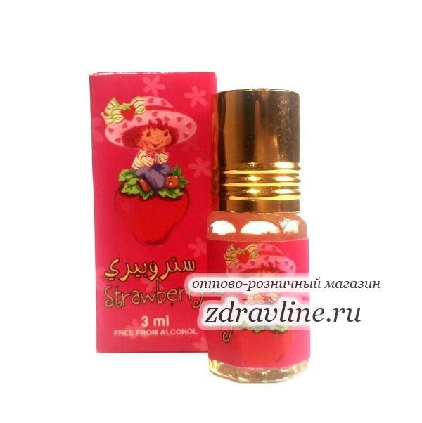 Детские духи Strawberry / Клубничка от Zahra, 3 мл
