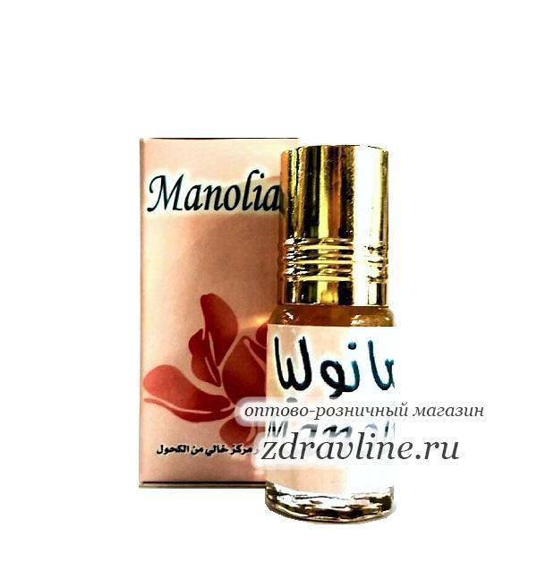 Арабские масляные духи  Manolia Zahra