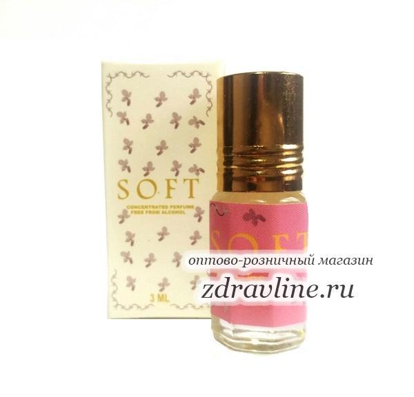 Масляные духи Soft / Софт от Zahra, 3 мл
