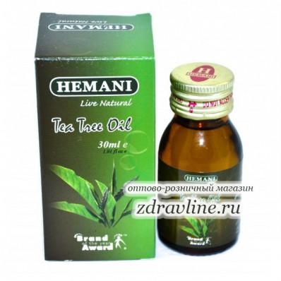 Масло Чайного дерева Hemani, 30мл