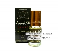 Масляные духи миск Allure Homme Sport