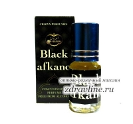 Духи миски Black Afkano / Блек Афкано от Al Rayan, 3 мл