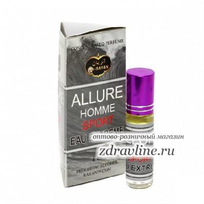 Масляные духи миск Allure Homme Sport (Аллюр Хом Спорт) Al Rayan 6 мл