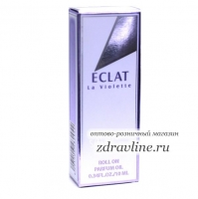 Масляные духи Eclat La Violette Fragnans