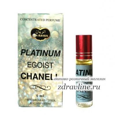 Духи Chanel Platinum Egoiste (Шанель Платинум Эгоист) Al Rayan 6 мл
