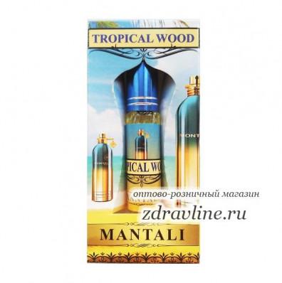 Масляные духи Mantali Tropical Wood (Монталь Тропикал Вуд)