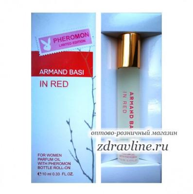 Маслянные духи с феромонами (копия Armand Basi in Red)10 мл