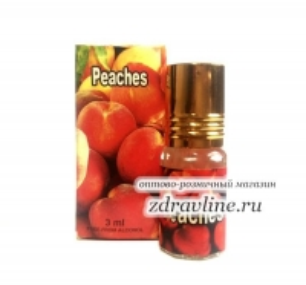Масляные духи Peaches / Персик от Zahra, 3 мл