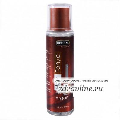 Тоник для волос с аргановым маслом Hemani 150мл